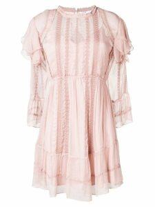 Iro Western ruffle dress - Pink