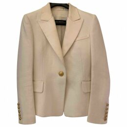 Beige Viscose Jacket