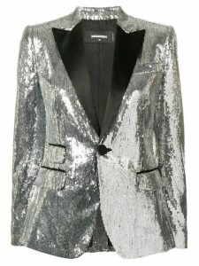 Dsquared2 sequin embellished blazer - Silver
