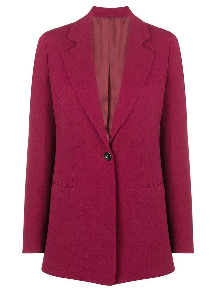 Joseph single breasted blazer - Red