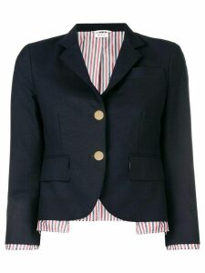 Thom Browne Drop Lining Wool Sport Coat - Blue
