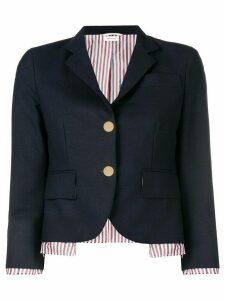 Thom Browne Drop Lining Wool Sport Coat - Blue