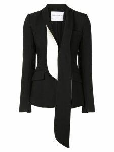 Prabal Gurung asymmetric lapel blazer - Black