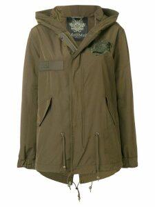 Mr & Mrs Italy cropped parka jacket - Green