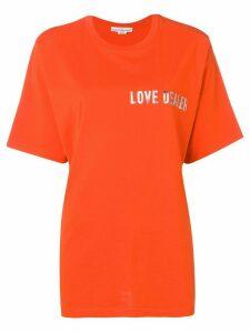 Golden Goose printed T-shirt - Orange