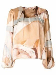 Aje Thurlow printed blouse - Multicolour