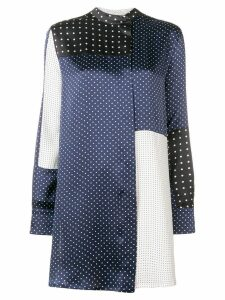 Sportmax polka dot pattern blouse - Blue