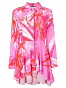 Josie Natori prism print top - Pink