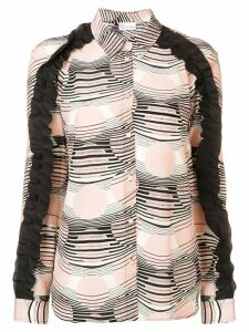 Red Valentino ruffled blouse - Neutrals