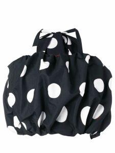 MSGM polka dot cropped top - Black