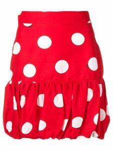 MSGM polka dot mini skirt - Red