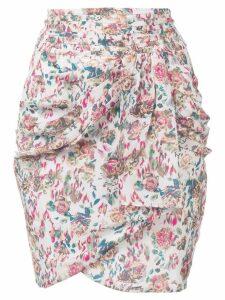 Iro floral print mini skirt - Neutrals