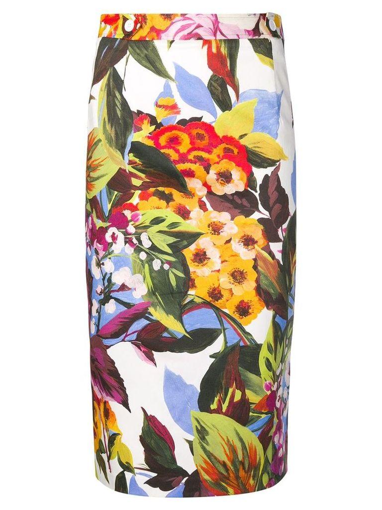 Blugirl floral print skirt - Green