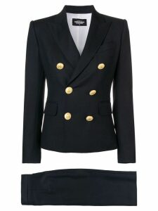 Dsquared2 double-breasted skirt suit - Blue