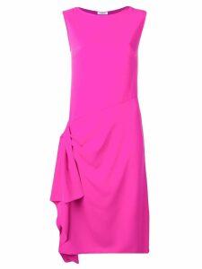 P.A.R.O.S.H. gathered detail dress - Pink