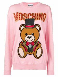 Moschino Teddy Circus sweater - Pink