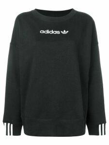 Adidas contrast logo sweatshirt - Black