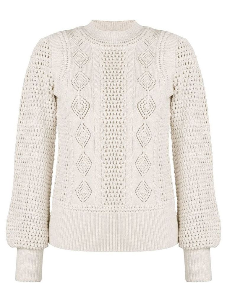 See By Chloé knitted jumper - Neutrals