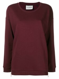 Roqa loose fit sweatshirt - Red