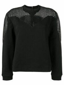 Diesel Black Gold perforated sweatshirt