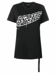 Diesel Aesthetic safety pin T-shirt - Black