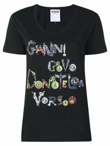 Versus printed T-shirt - Black
