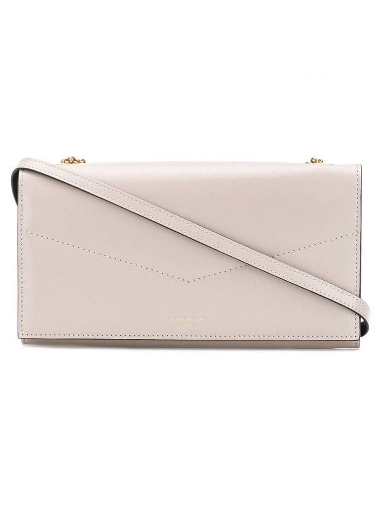 Givenchy Edge foldover clutch - Neutrals