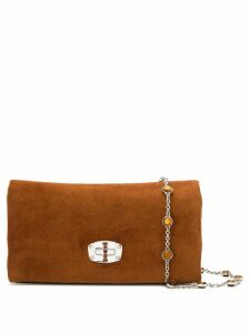Miu Miu Iconic Crystal shoulder bag - Brown