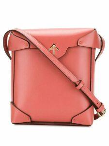 Manu Atelier mini Pristine crossbody bag - Pink