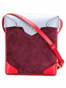 Manu Atelier mini Pristine crossbody bag - Red