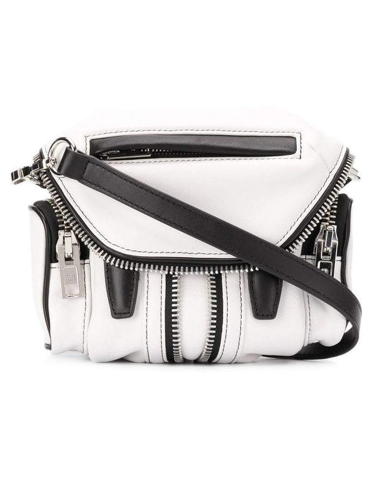 Alexander Wang micro Marti crossbody bag - White