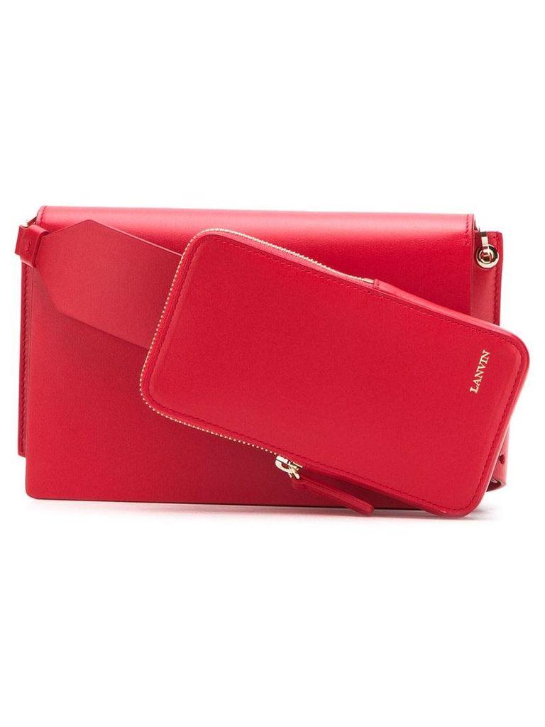 Lanvin small shoulder bag - Red