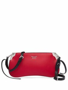Prada Sidonie leather shoulder bag - Red