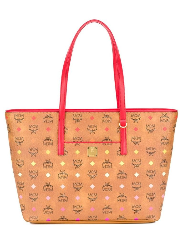 MCM Anya tote bag - Neutrals