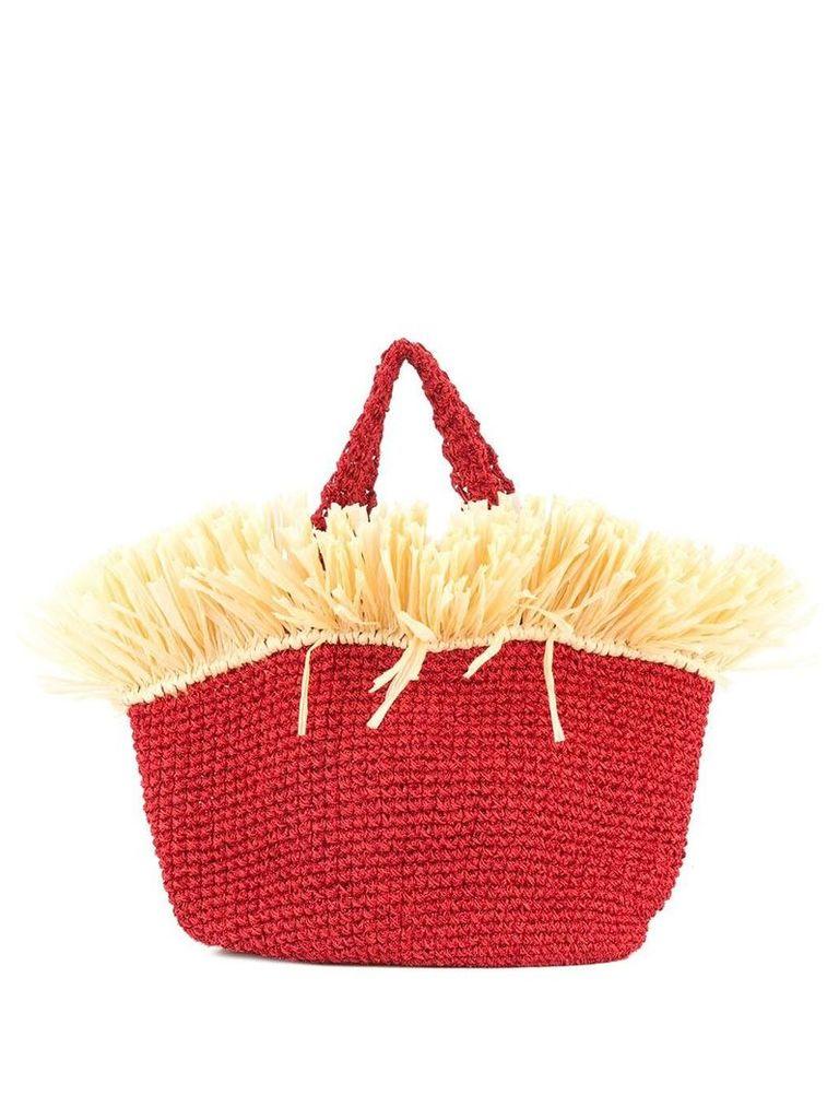 0711 Malibu beach bag - Red