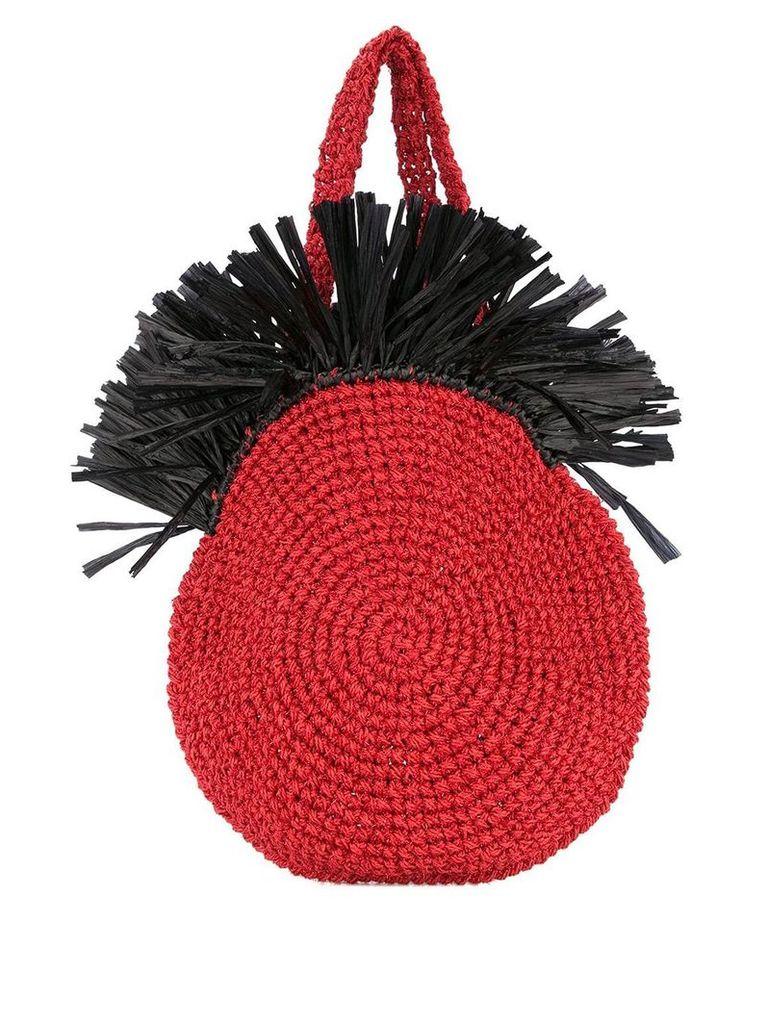 0711 Tulum beach bag - Red