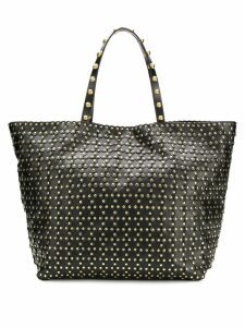 Red Valentino RED(V) Flower Puzzle tote - Black