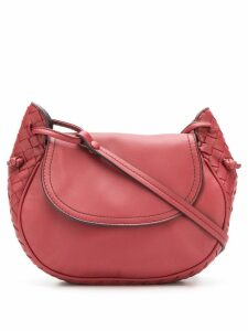 Bottega Veneta Piccola cross body bag - Red