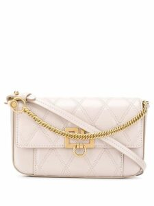 Givenchy GV3 quilted crossbody bag - Neutrals