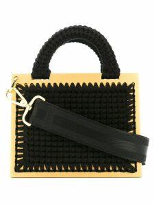 0711 small st. barts bag - Black