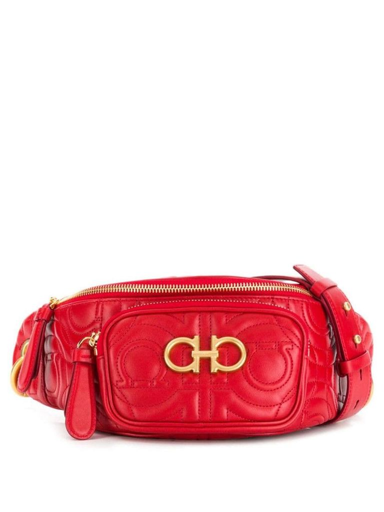 Salvatore Ferragamo Gancini belt bag - Red