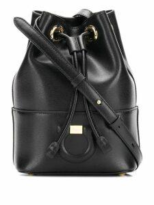 Salvatore Ferragamo City bucket bag - Black