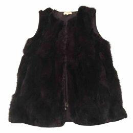 Rabbit cardi coat