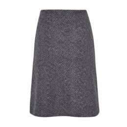 Herringbone ALine Skirt
