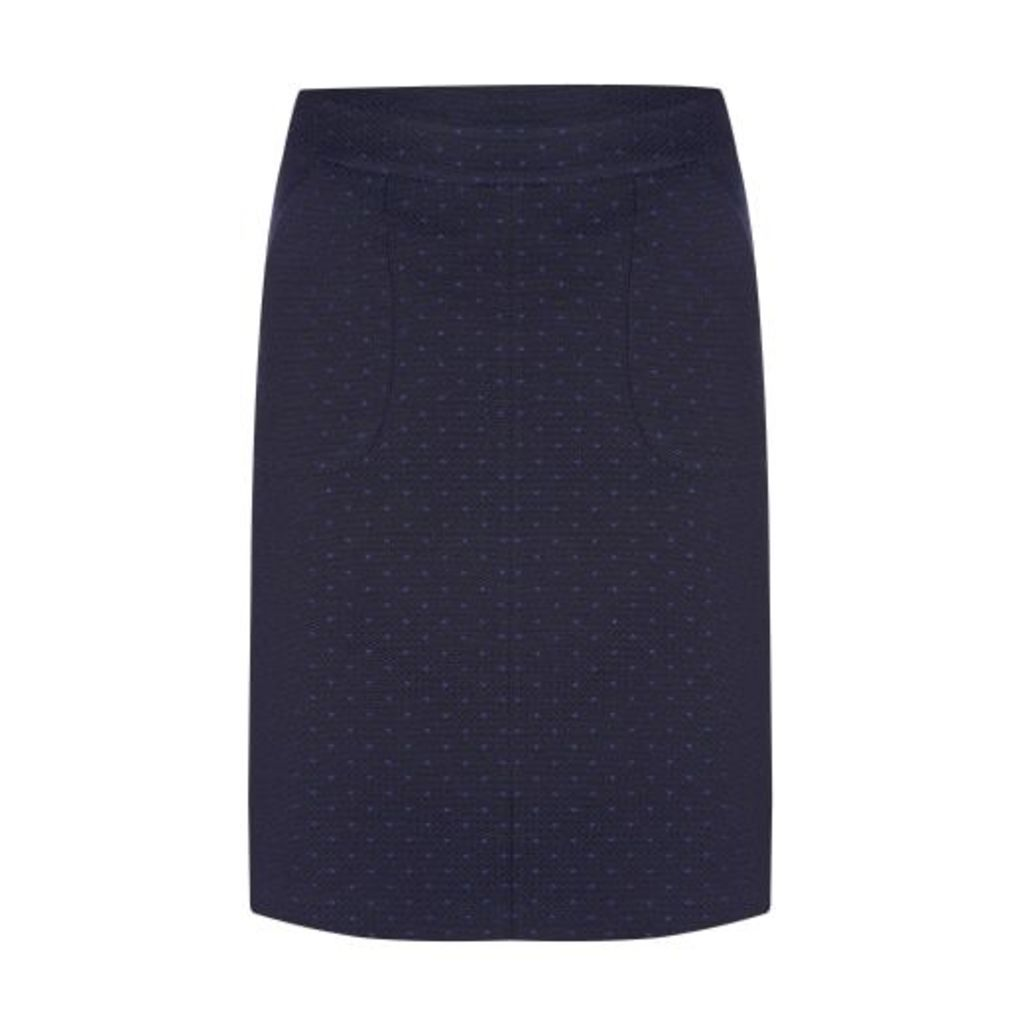 Textured Dot ALine Skirt