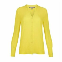 Mimosa Button Through Cupro Blouse