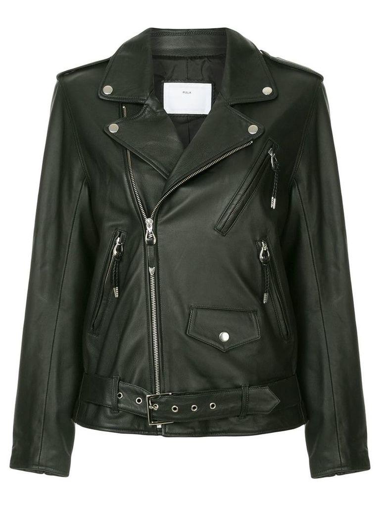 Toga Pulla lace-up jacket - Black