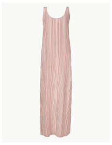 M&S Collection Striped Shift Maxi Dress