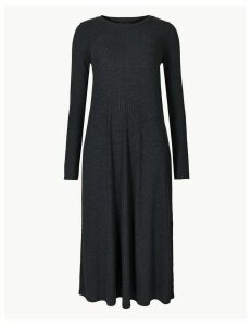 M&S Collection Jersey Swing Midi Dress