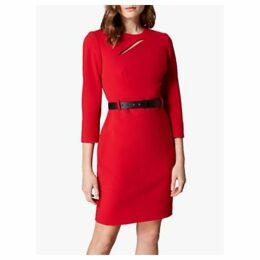 Karen Millen Mini Fever Dress, Red